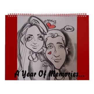 A Year Of Memories... Wall Calendar
