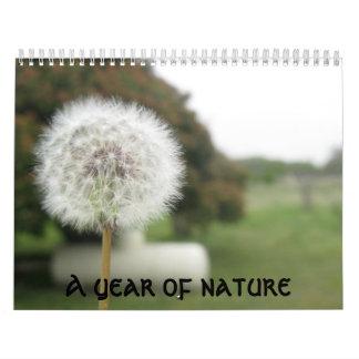 A year of nature calendar