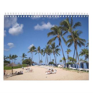 A Year of Paradise Calendar