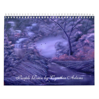 A year of Peace and Tranquility. Calendar