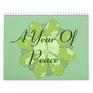 A Year Of Peace Calendar