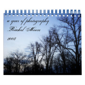 A year of photography by Rachel Moore Calendar