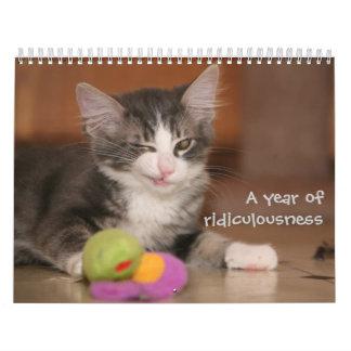 A year of ridiculousness calendar