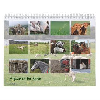 A year on the farm calendar