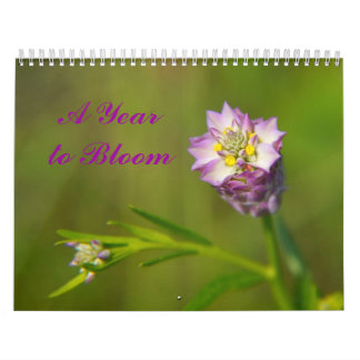 A Year to Bloom floral 2014 calendar