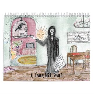 A Year With Death Calendar