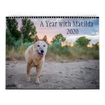 A Year with Matilda: 2020 Calendar