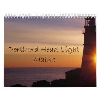 A Year with Portland Head Light Calendar