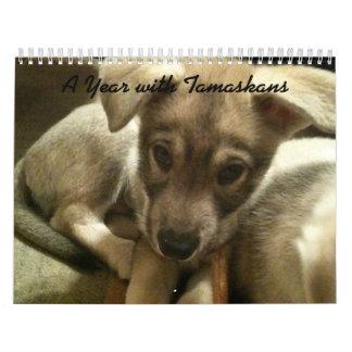 A Year with Tamaskans Calendar