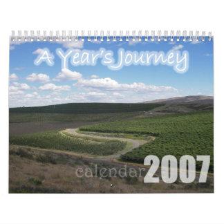 A Year's Journey Calendar