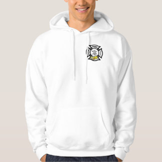 A Yellow Fire Truck Rescue Hoodie
