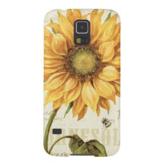 A Yellow Sunflower Galaxy S5 Case