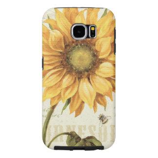A Yellow Sunflower Samsung Galaxy S6 Case