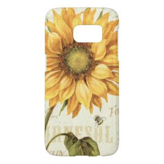 A Yellow Sunflower Samsung Galaxy S7 Case