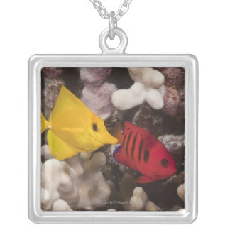 A Yellow Tang Personalized Necklace