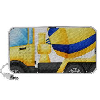 A yellow truck mp3 speaker