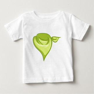 A yellowgreen scarf baby T-Shirt