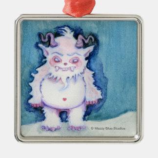 A Yeti Named Al Ornament