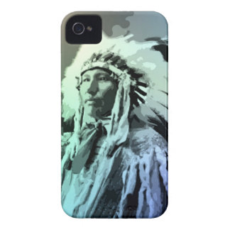 A Young Brule Indian Man Blackberry Case
