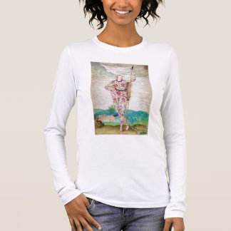 A Young Daughter of the Picts, c.1585 (w/c and gou Long Sleeve T-Shirt