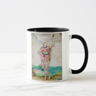 A Young Daughter of the Picts, c.1585 (w/c and gou Mug