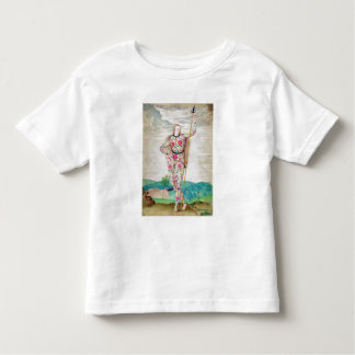 A Young Daughter of the Picts, c.1585 (w/c and gou Toddler T-shirt