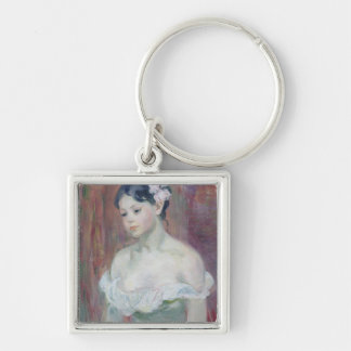 A Young Girl, 1893 Keychain