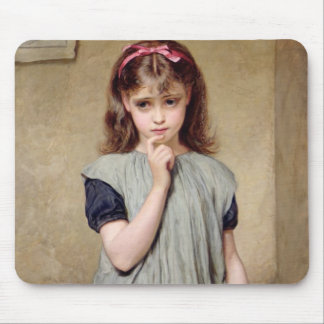 A Young Girl in the Classroom, 1876 (oil on canvas Mouse Pad