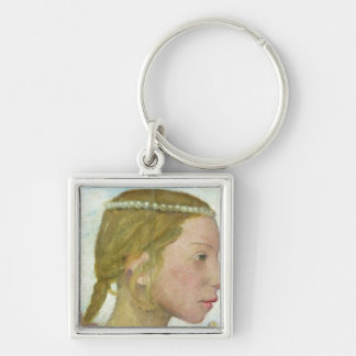 A Young Girl Keychain