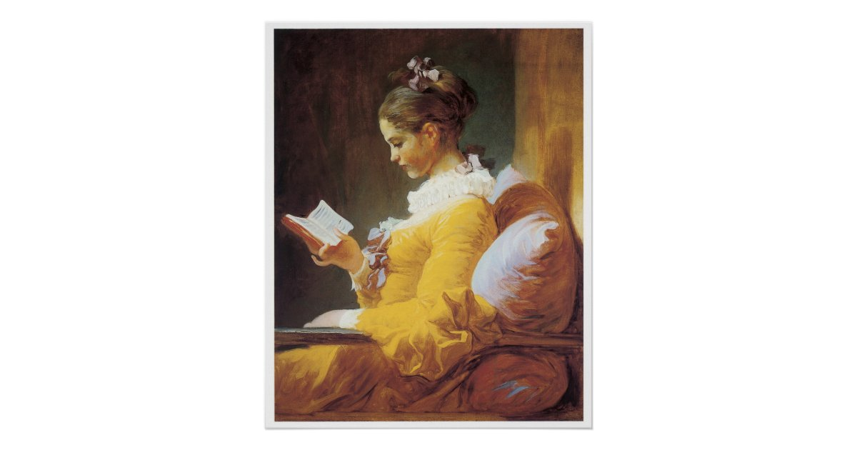 a young girl reading  1776 jean