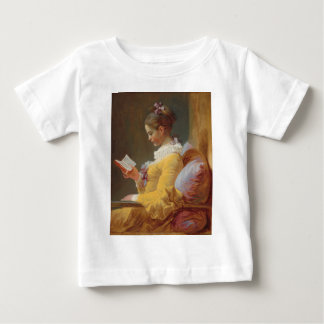 A Young Girl Reading, The Reader by J. Fragonard Baby T-Shirt