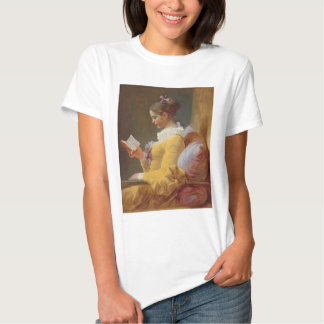 A Young Girl Reading, The Reader by J. Fragonard T Shirt