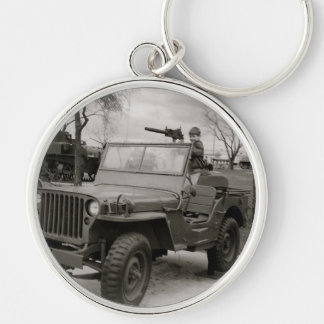 A Young Gunner Ready To Go Key Chain