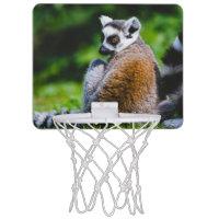 A Young Lemur, Animal Photography Mini Basketball Hoops