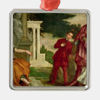 A Young Man Between Virtue and Vice Christmas Tree Ornament