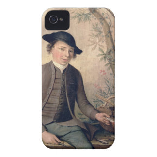 A Young Man Gutting Fish, 1782 (panel) iPhone 4 Case-Mate Case
