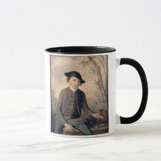 A Young Man Gutting Fish, 1782 (panel) Mug