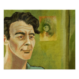 A young man Portrait Poster