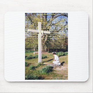 A Young Man's Life Prayer Mouse Pad
