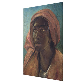 A Young Negro Woman Canvas Print