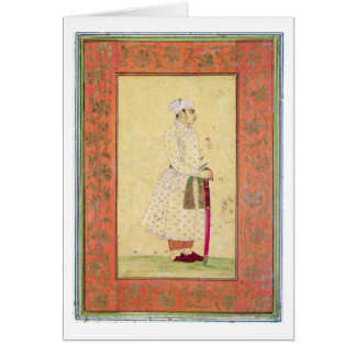 A young nobleman of the Mughal court, from the Lar Card
