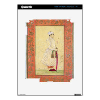 A young nobleman of the Mughal court, from the Lar iPad 3 Skin