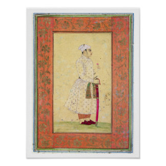 A young nobleman of the Mughal court, from the Lar Posters