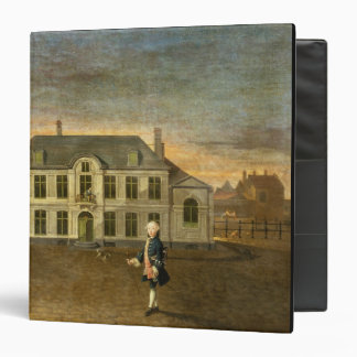 A Young Nobleman Standing before a Mansion (see al 3 Ring Binders
