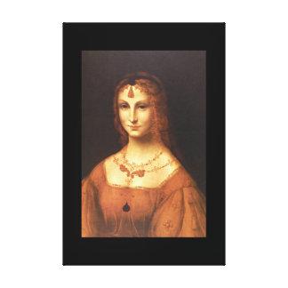 A Young Patrician Lady', Schoo_Portraits Canvas Print