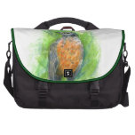 A Young Robin, Watercolor Pencil Commuter Bags