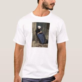 A Young Scheveningen Woman Knitting T-Shirt