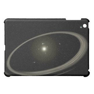 A young star circled by full-sized planets iPad mini case
