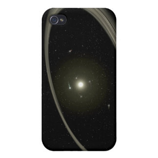 A young star circled by full-sized planets iPhone 4/4S cases