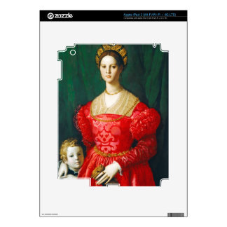 A Young Woman and Her Little Boy, c.1540 Decal For iPad 3
